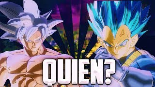🤔¡¿QUIÉN ES MÁS FUERTE?!🤔 Goku UI Dominado vs Vegeta SSB Evolution!😱 Dragon Ball Xenoverse 2