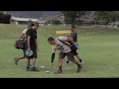Maui disc golf KCC Sunday singles first round 11/19/17