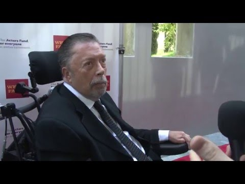 Tim Curry Interview | The Actors Fund's 19th Annual LA Tony Awards Viewing Party