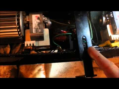 Replacing The Fan Switch Reostat On The Hearthstone Clydesdale Wood Stove