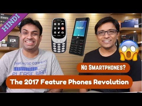 The Feature Phone Revolution of 2017 - Jio Phone, Nokia 3310, Airtel 4G Phone...