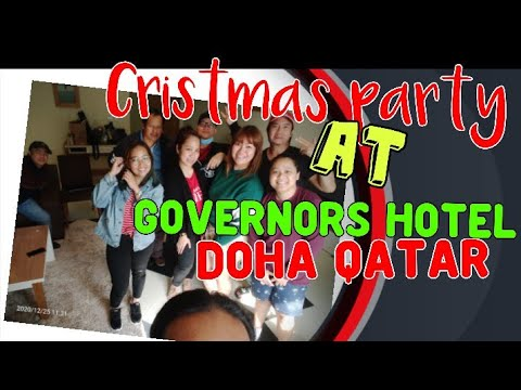 Part 1 Christmas's party Dec 24 2020 at Governor's hotel  DOHA QATAR