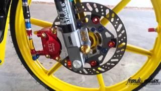 Repeat youtube video Modifikasi Motor Contest Jupe Mx Dogos Sahan (Pazautozone)