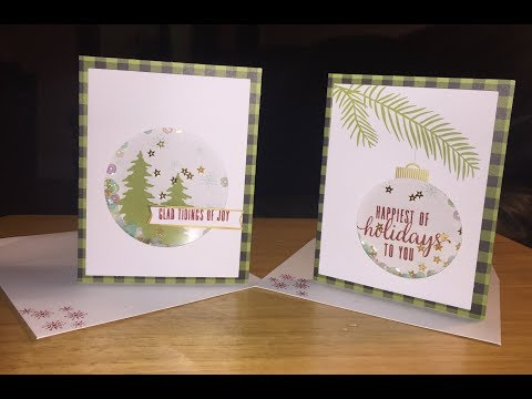 Stampin' Up! | Paper Pumpkin Kit October 2017 | Pining for Plaid