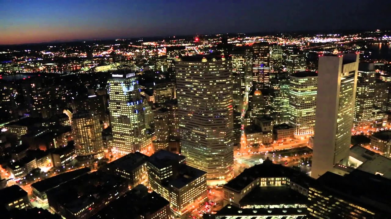 Image result for Boston at night