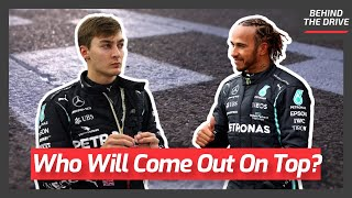 Is George Russell Faster Than Lewis Hamilton ALREADY?