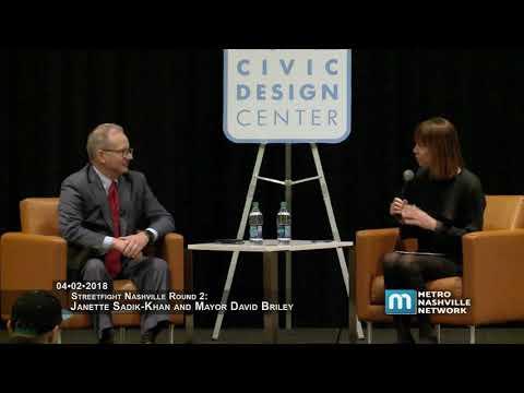 04/02/18 NCDC Transit Forum: Mayor Briley, Janette Sadik Khan