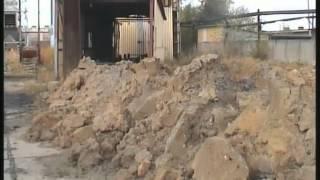 Wyburzenie komina EC Machów Tarnobrzeg