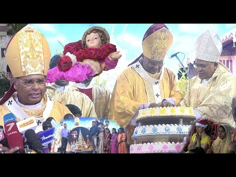 Christmas Celebrations In Chennai | Santhome Church | Christians Offered Special Prayers |STV