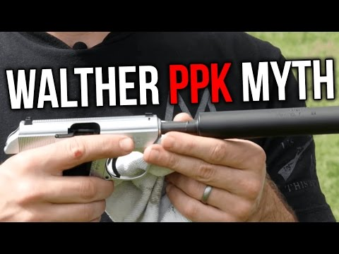 The Walther PPK .22 is Always Subsonic - Myth or Magic?