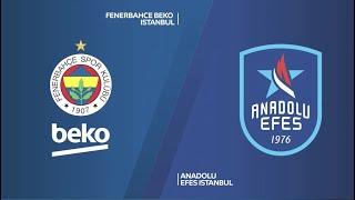 #EuroLeague 13. Hafta: Fenerbahçe Beko - Anadolu Efes