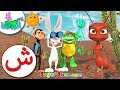 اناشيد الروضة - تعليم الاطفال - تعلم نطق الحروف الأبجدية العربية - حروف الهجاء- حرف (ش)- بدون ايقاع
