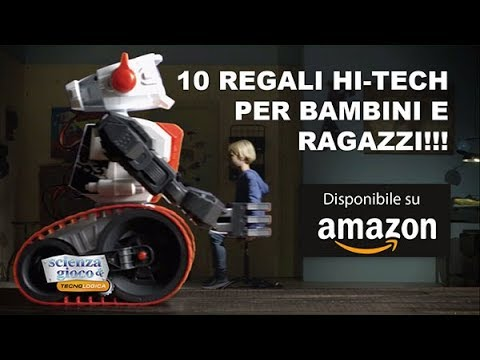 10 regali hi tech per bambini e ragazzi da amazon regali for Regali hi tech