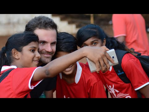 Juan Mata pledges 1% of salary to support football charities