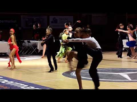 Helsinki Open 2017, Alexandr Bayrakov, Anastasia Nesterova, J1, LA, 1/2, Samba