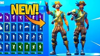 *NEW* SEA WOLF Skin Showcase With Dance Emotes! Fortnite Battle Royale
