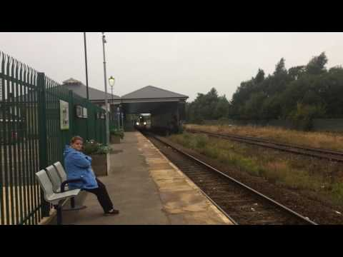 800019 passing North Road working the 5X80 Merchant Park Sidings to Doncaster Carr IEP depot
