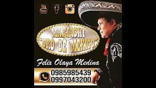 """UN RAMO DE FLORES CON MARIACHI  """"Oro de Mexico"""" de FELIX OLAYA  de GUAYAQUIL"""