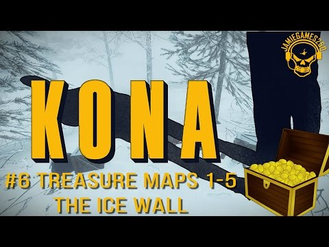 Let's play kona Treasure maps 1-5 and The Ice Wall xbox one