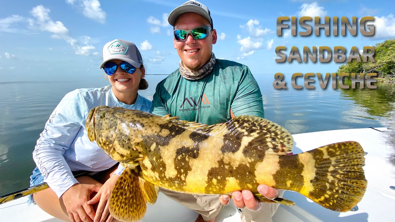 WATCH  this video before Fishing the Florida Keys .. Fishing Sandbar & Ceviche Speed Boat Charter!