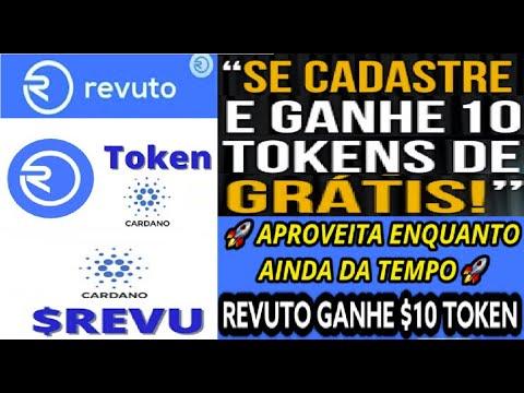 【REVUTO PROTOCOLO】10 Tokens REVU grátis ligado a Cardano, pode deixar você MILIONÁRIO | Renda Extra
