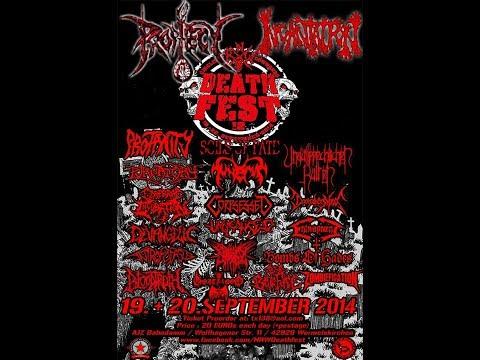 """9-7-14 PROPHECY - """"Tortured By Deceit"""" - Headlining N.R.W. Deathfest!!"""