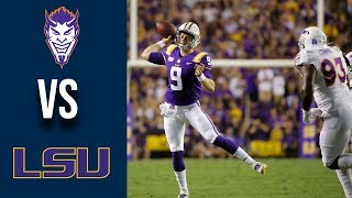 Week 3 2019 Northwestern State vs #4 LSU Full Game Highlights 9 14 2019