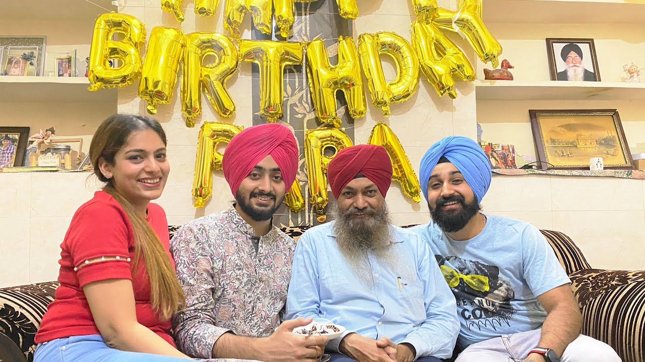 Papa's Birthday Surprise gone wrong   Meet Ravneet Side Family   That Couple Though   Vlog