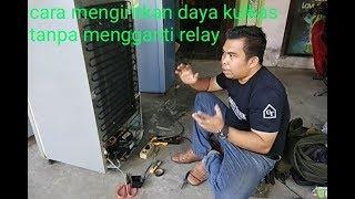 cara mudah mengiritkan daya kulkas tanpa mengganti relay ptc
