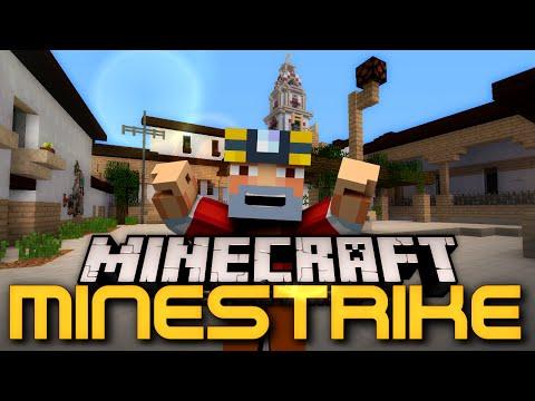 CS:GO + Minecraft! (Minestrike W/ Friends!)