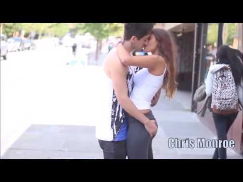 Kiss prank gone horny