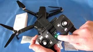 SJRC F11 Long Flying Brushless GPS FPV Camera Drone Flight Test Review