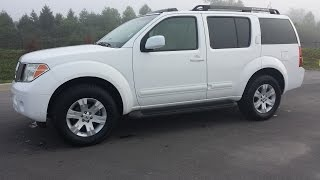 sold. 2006 NISSAN PATHFINDER LE 4X4 4.0 LEATHER 7 PASSENGER 1 OWNER RUST FREE 109K CALL 855-507-8520