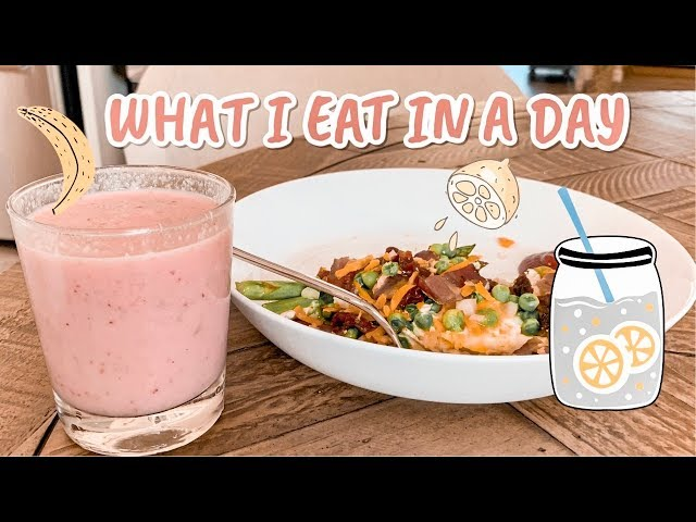 What I Eat in a Day Healthyish Edition | adaatude