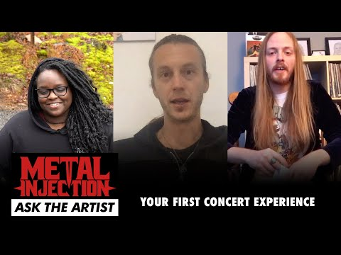 ASK THE ARTIST: Your First Concert Experience | Metal Injection