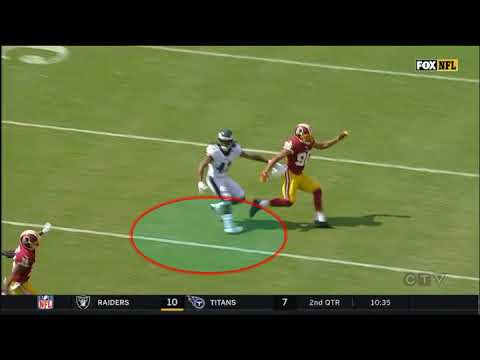 Philadelphia Eagles Ronald Darby - Rare Injury - Dislocated Ankle