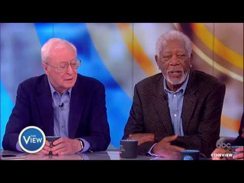Morgan Freeman, Michael Caine & Alan Arkin Talk 'Going In Style'  The View