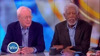 Morgan Freeman, Michael Caine & Alan Arkin Talk