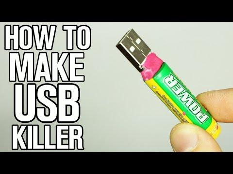 How to make USB Killer!