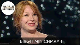 Birgit Minichmayr über Alkoholkonsum unter Schauspielern | Die Harald Schmidt Show (SKY)