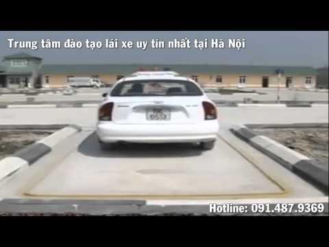 Học lái xe ô tô bài 7 - Ghép xe vào nơi đỗ