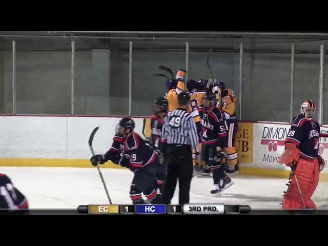 Elmira College Mens Ice Hockey vs  #10/9 Hobart College