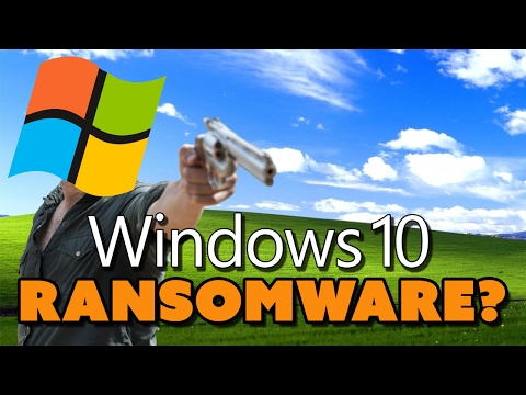 Windows 10 Is RANSOMWARE? - The Know Tech News