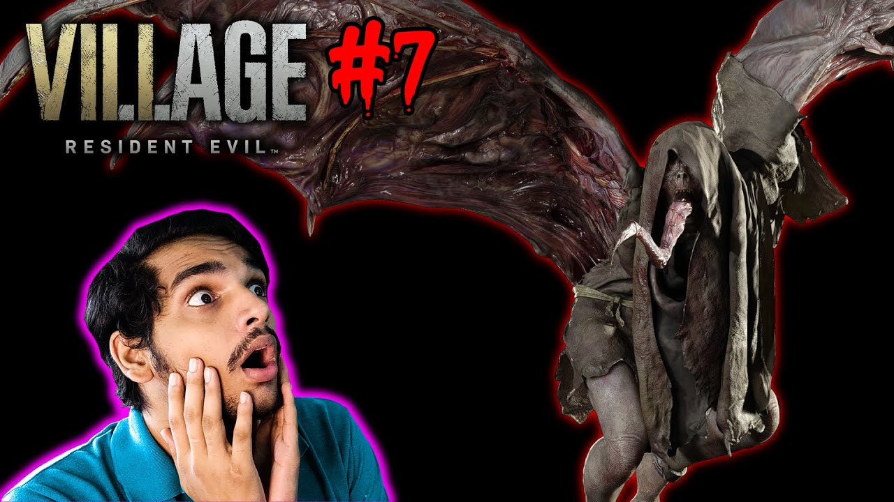 i SAW A FLYING MONSTER : RESIDENT EVIL 8   PART 7   Malayalam
