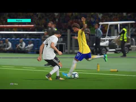 PES 2018 FIFA World Cup 2018 Semi-finals Brazil v Germany