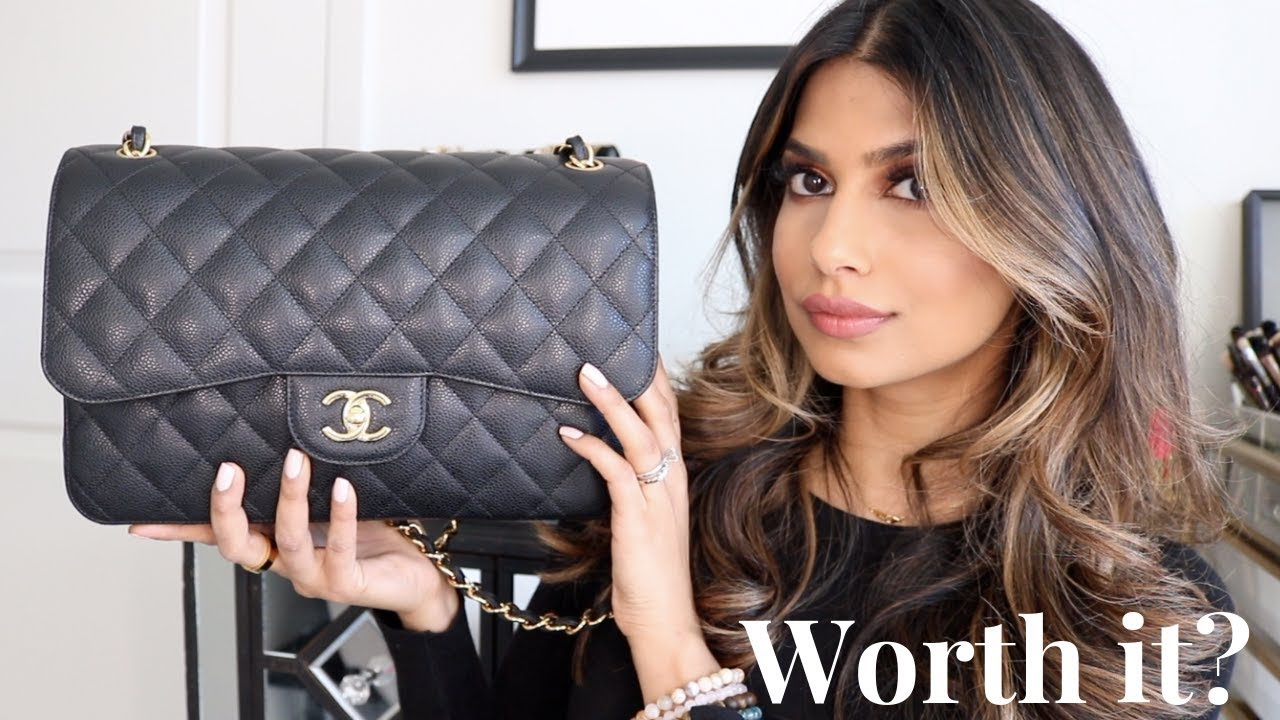 e577a3d330f9 CHANEL Jumbo Classic Double Flap WORTH IT??? Honest Review! - YouTube