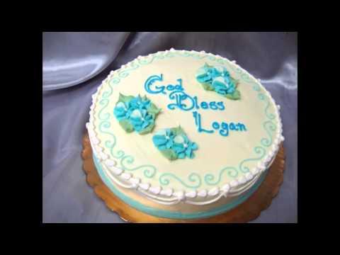 diy baptism cake decorations   youtube  rh   youtube com