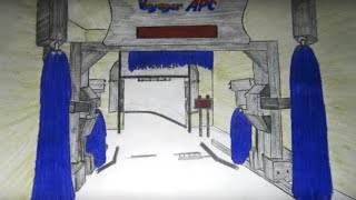 Some of my car wash drawings