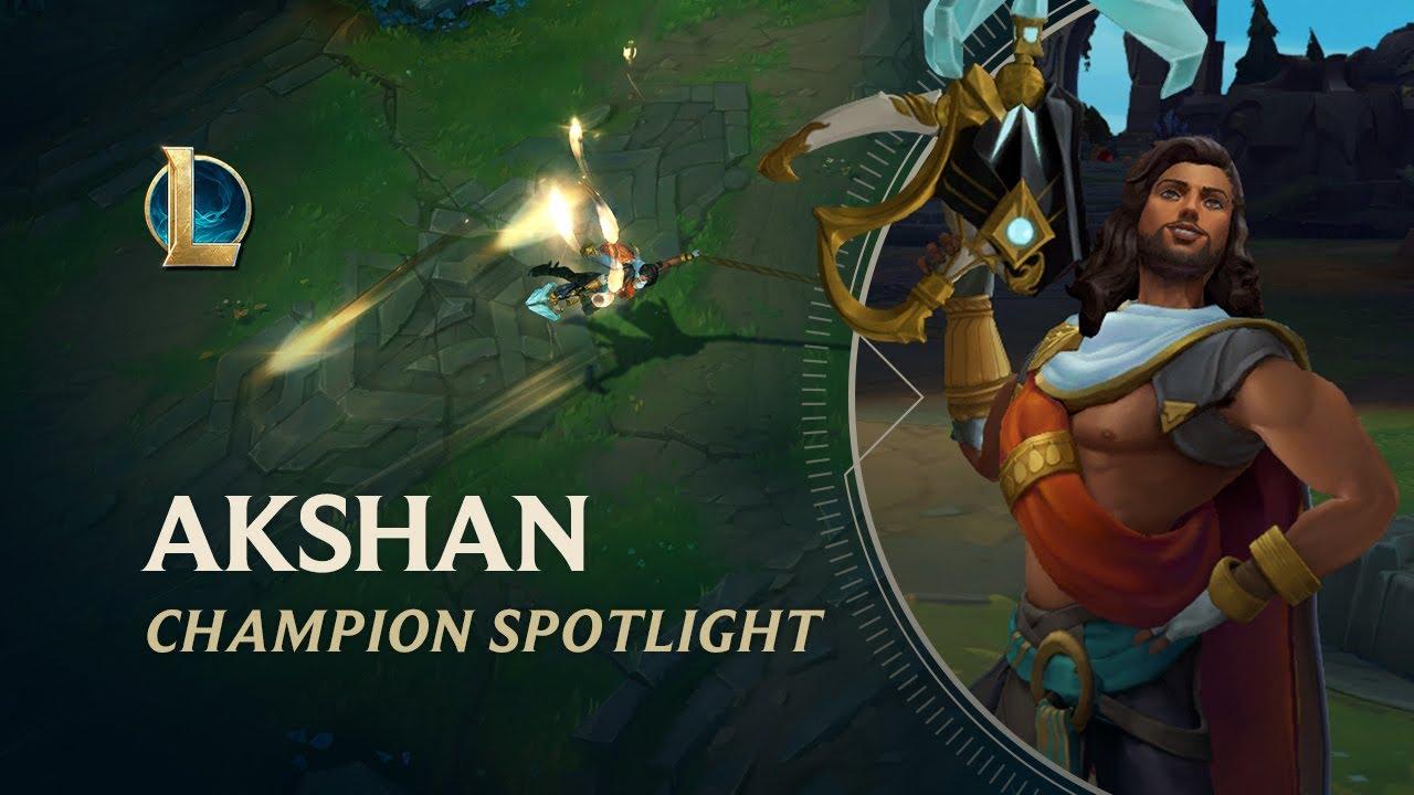 Akshan Champion Spotlight   Gameplay - League of Legends