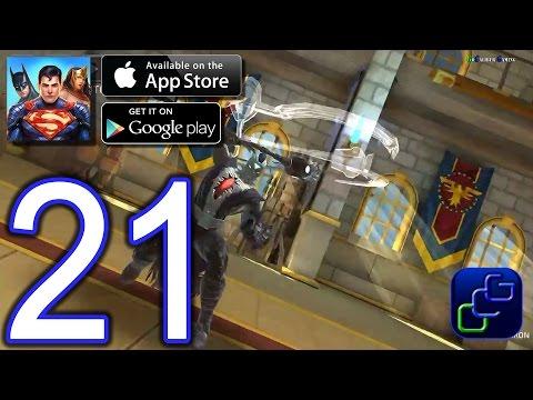 DC Comics Legends iOS Walkthrough - Part 21 - Chapter 4: Themyscira Temple Of Athena (Heroic)